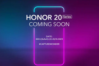The Honor 20 is coming on 21 May