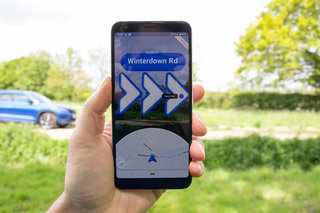 What is Google Maps AR navigation image 2