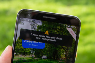 What is Google Maps AR navigation image 4