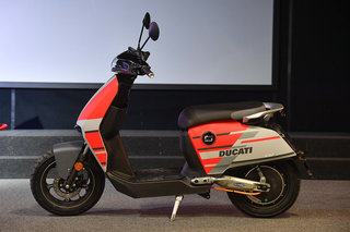 Super Soco and Ducati partner for special edition electric mope