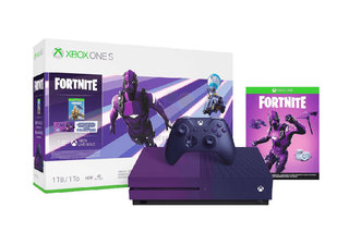 Special Fortnite purple Xbox One S leaked, with shiny controller included