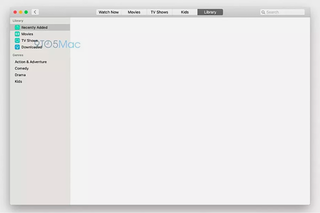 Apple's new Apple TV app and Music app for Mac revealed in leaked pics