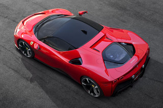 Ferrari Has Launched Its First Plug-in Hybrid The Blazing Fast Sf90 Stradale image 2