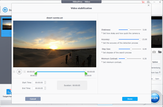 How to stabilise shaky videos with VideoProc image 2