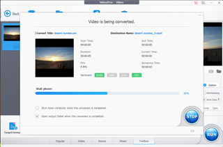 How to stabilise shaky videos with VideoProc image 5