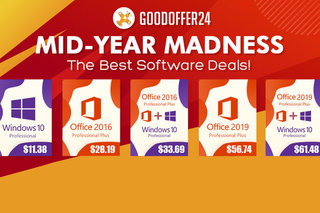 Best software deals! Mid-year madness hits GoodOffer24!