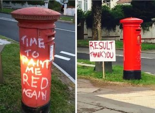 Amusing Photos Of Real-world Street Vandalism Thatll Make Your Chortle image 10