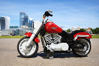 Lego's latest is a detailed model of the iconic Harley-Davidson Fat Boy