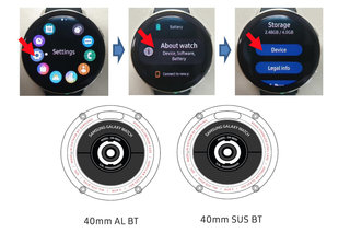 Samsung Galaxy Watch Active 2 design and specs revealed by FCC leak image 2