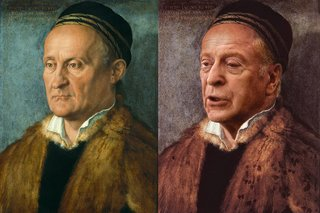 Hilarious Images Of Celebrities Photoshopped Into Renaissance Paintings image 20