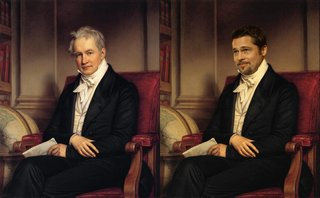 Hilarious Images Of Celebrities Photoshopped Into Renaissance Paintings image 23
