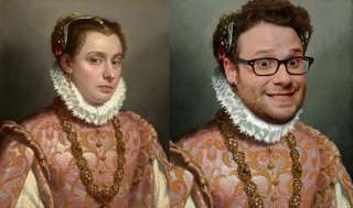 Hilarious Images Of Celebrities Photoshopped Into Renaissance Paintings image 9