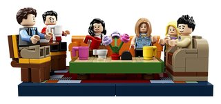 This is Legos Friends-themed set of the Central Perk coffee house image 2