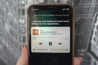 Apple users might soon be able to ask Siri to play music through Spotify