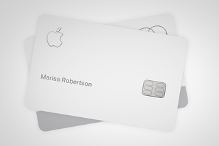 Whatever you do dont put the titanium Apple Card in jeans or a leather wallet image 2