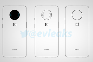 These leaked sketches show a mystery OnePlus phone, maybe a 5G 7T Pro?