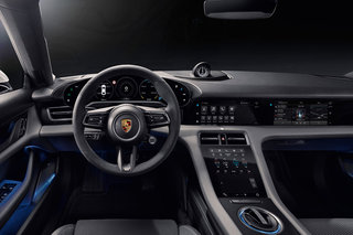 All-electric Porsche Taycan features a fabulous fully digital dashboard image 2