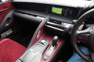 Lexus LC500h review interior image 2