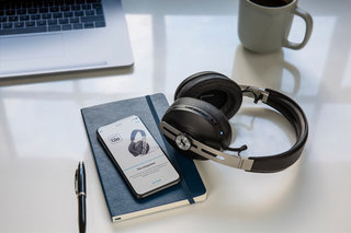 Sennheiser's latest Momentum headphones have ANC, auto-pause and Tile integration