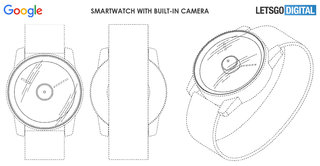 Google Pixel Watch with built-in camera appears in patent image 2
