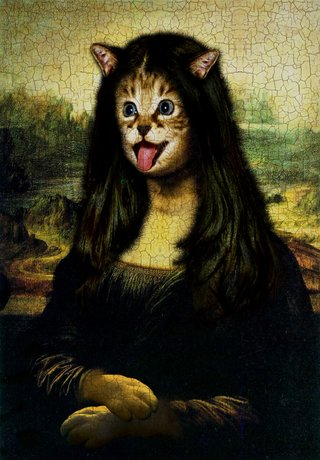 Amusing Images Of Animals Photoshopped Into Renaissance Paintings image 15