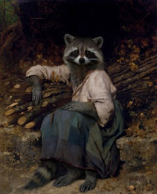 Amusing Images Of Animals Photoshopped Into Renaissance Paintings image 17