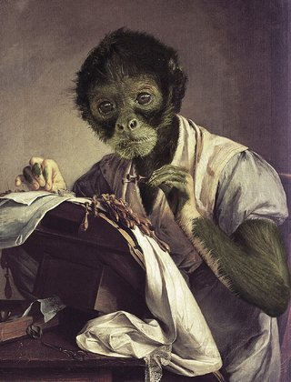 Amusing Images Of Animals Photoshopped Into Renaissance Paintings image 18