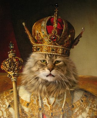 Amusing Images Of Animals Photoshopped Into Renaissance Paintings image 19