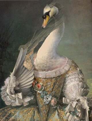 Amusing Images Of Animals Photoshopped Into Renaissance Paintings image 21