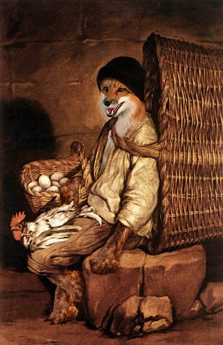 Amusing Images Of Animals Photoshopped Into Renaissance Paintings image 23