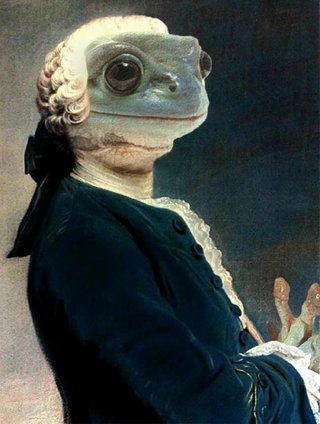 Amusing Images Of Animals Photoshopped Into Renaissance Paintings image 26