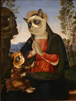 Amusing Images Of Animals Photoshopped Into Renaissance Paintings image 5