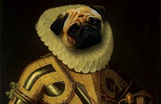 Amusing Images Of Animals Photoshopped Into Renaissance Paintings image 9