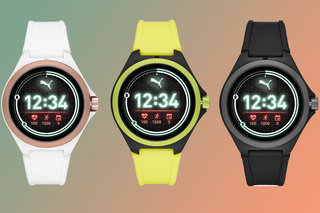 Puma launches its first smartwatch with heart rate, built-in GPS, swim proofing and WearOS