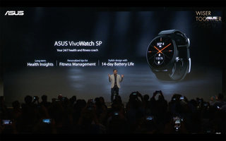 Asus VivoWatch SP will not only track your exercise, but your vital statistics too