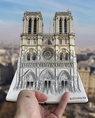 This incredible artist changes your perspective of the world with amazing sketches