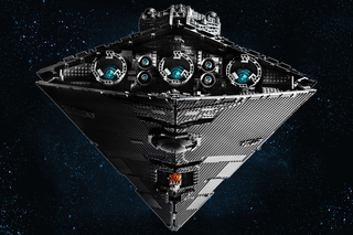UCS Lego Star Wars Imperial Star Destroyer is very big and very grey image 2