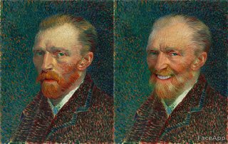 Artwork Re-imagined With Ai Smiles And Old Age Filters image 15