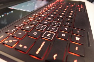 HP Omen X 2S keyboard and trackpad image 5