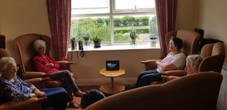 Care homes get 21st century makeover thanks to Alexa and VR