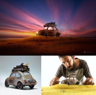 This Incredible Photographer Creates New Worlds With Arts And Crafts image 16