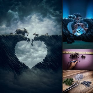 This Incredible Photographer Creates New Worlds With Arts And Crafts image 18