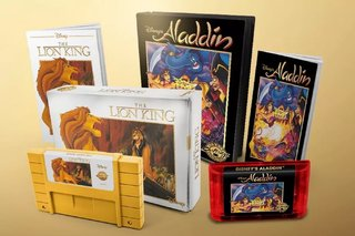 Disney classic games are getting re-released with cartridge versions too