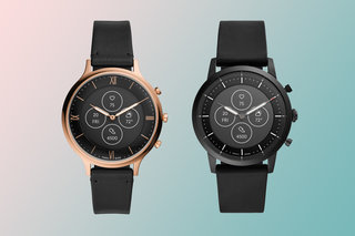 Fossil Hybrid HR features traditional watch style with smartwatch functionality