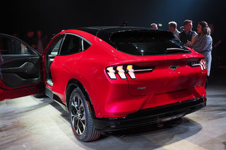 All-electric Ford Mustang Mach-e In Pictures image 4