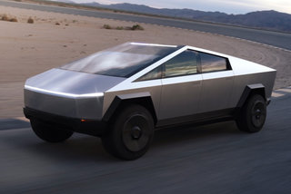 Tesla Cybertruck looks like a modern-day DeLorean