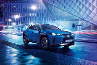 Lexus unveils its first EV, the Lexus UX 300e