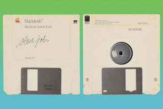 Steve Jobs signed Apple floppy disk can be yours for more than $8,000
