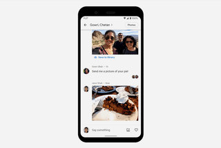 How to use Google Photos to start a private conversation or group chat