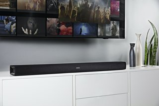La barre de son tout-en-un DHT-S216 de Denon utilise DTS Virtual:X pour un son surround virtuel